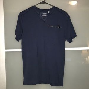 Never-Used Guess Navy Short Sleeve Men's S Tee